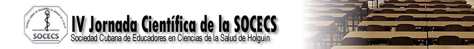 IV jornada SOCECS Holguín